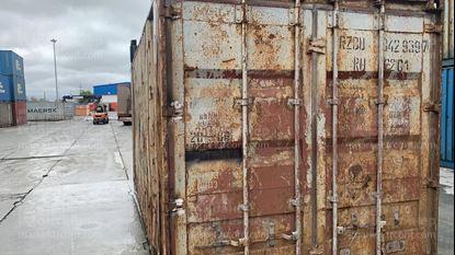 Изображение 20-футовый б/у контейнер №0429397