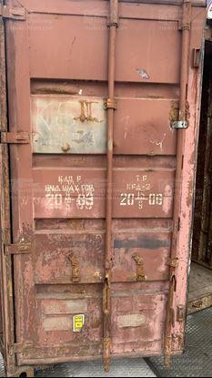Изображение 20-футовый б/у контейнер №0517754