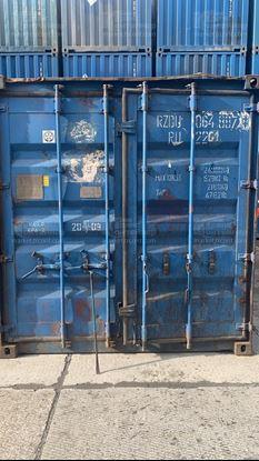 Изображение 20-футовый б/у контейнер №0648878