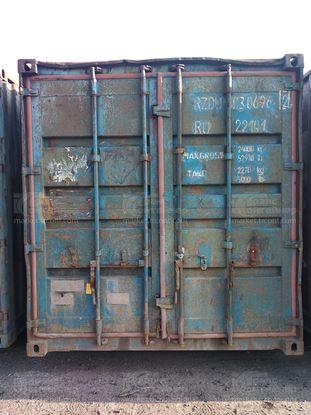 Изображение 20-футовый б/у контейнер №0306962