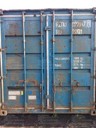 Изображение 20-футовый б/у контейнер №0298471