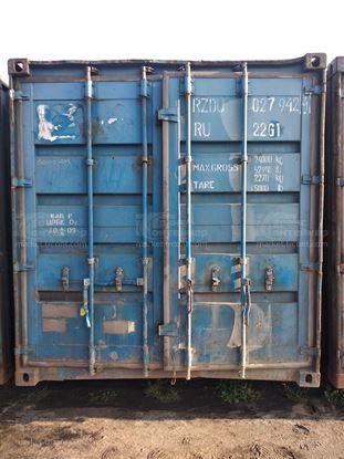 Изображение 20-футовый б/у контейнер №0279424