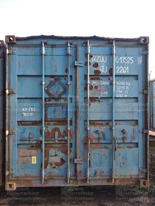 Изображение 20-футовый б/у контейнер №0135258