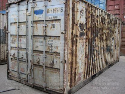 Изображение 20-футовый б/у контейнер №0141625